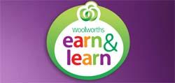 Earn and Learn Sticker